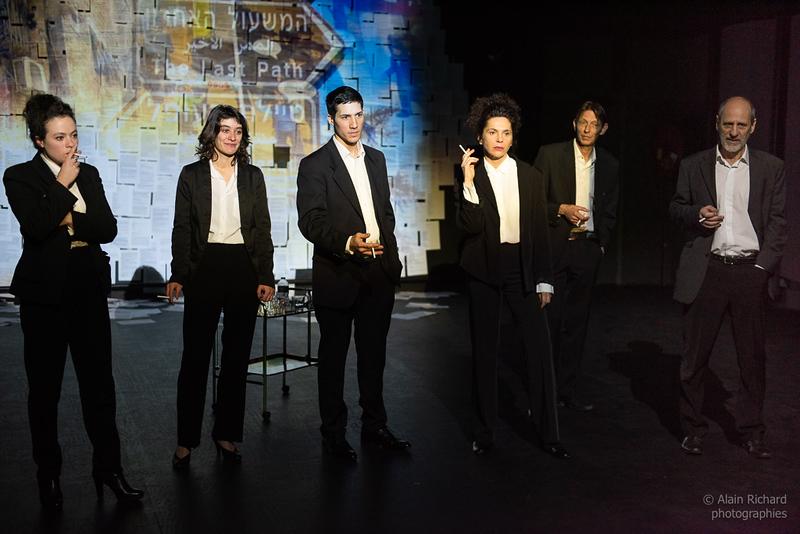 Nolwenn Peterschmitt, Carole Maurice, Paul-Frédéric Manolis, Roxane Borgna, Jean-Marie Deboffe, Etienne Coquereau