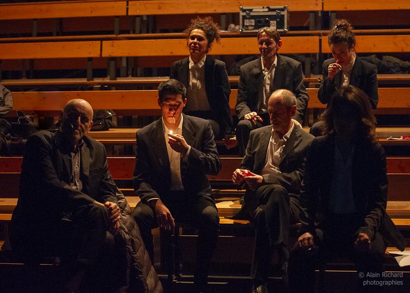 Bernard Bloch, Paul-frédéric Manolis, Roxane Borgna,Jean-Marie Deboffe, Etienne Coquereau, Nolwenn Peterschmitt, Carole Maurice