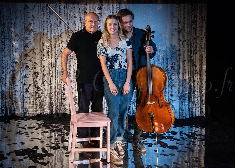Volker Schlöndorff, Camille Razat, Stanislav Makovsky