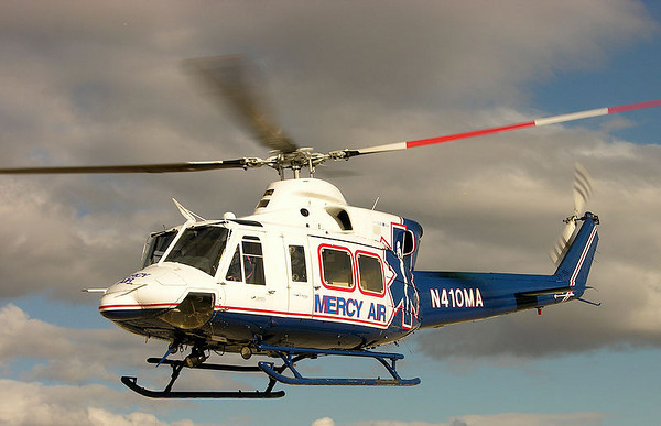 """Bell 412SP Helicopter Crash  """"Mercy Air 2"""""""
