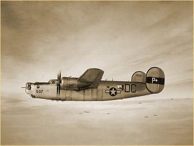 Consolidated B-24J Liberator Mid Air Crash Site