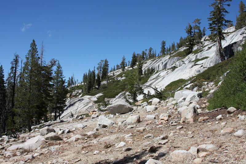 Approaching the high sierra.
