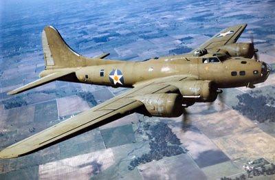 A similar shot of a B-17C.