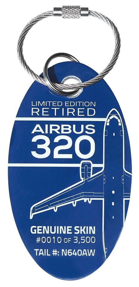 Airbus 320 N640AW