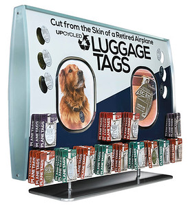 Luggage Tags retail display