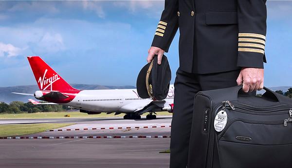 Virgin Air Boeing 747