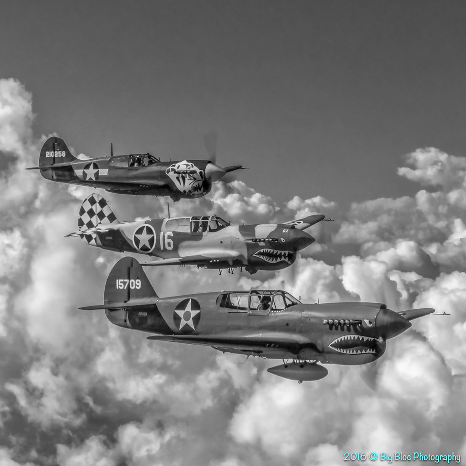 P-40 Formation