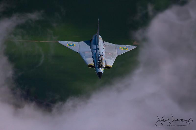 The Saab 35 Draken