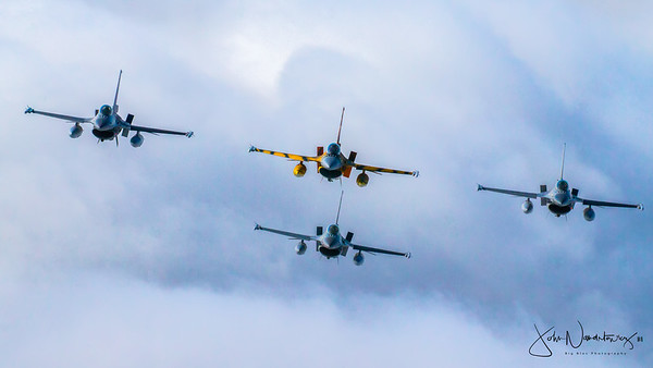 Sanicole International Air Show, The Belgians, The Swedes and The Spanish