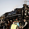 "12-04-11  <b>The Christmas Train </b> <br>The S.P & S. 700 locomotive, decked out for Christmas, resides in and is owned by the city of Portland, Oregon.<br><br>    © John F. Rogers<br><br>Other pics (including alternate renderings of this shot) at <a href=""http://jrogers.smugmug.com/Planes-Trains-2/SP-S-700/5744111_BnW9p5"">S.P. & S. 700</a>"