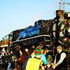 12-04-11  <b>The Christmas Train </b> <br>The Spokane, Portland and Seattle 700 (S.P & S. 700) locomotive, decked out for Christmas, is the third largest operating steam locomotive in North America.  The locomotive resides in and is owned by the city of Portland, Oregon.<br><br>    © John F. Rogers