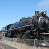 <b>The Spokane, Portland and Seattle 700 (S.P & S. 700) locomotive</b>, the third largest operating steam locomotive in North America.  The locomotive resides in and is owned by the city of Portland, Oregon.