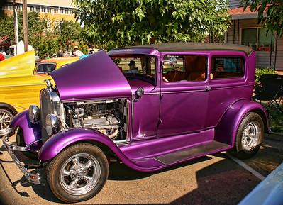 Lincoln, Ca. Car Show