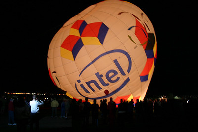 Dawn Patrol - Intel balloon getting ready for ascension