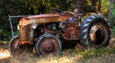 Old tractor that still runs well - Cedar Point Ranch, Mariposa