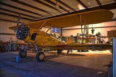 1941 N3N-3 Naval Aircraft Factory biplane.