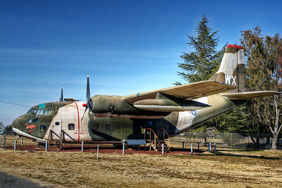 Castle Air Museum - Fairchild C-123K Provider (cargo) originally designed as a glider.