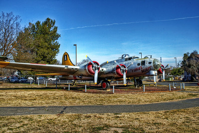 Castle Air Museum - B-17G Flying Fortress Bomber.  Flew mostly out of England.