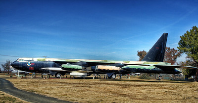 Castle Air Museum - Boeing B-52D Stratofortress bomber.