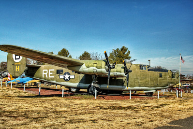 Castle Air Museum - B-24M Liberator bomber.  Only combat aircraft to serve in every theator of operations in WWII.