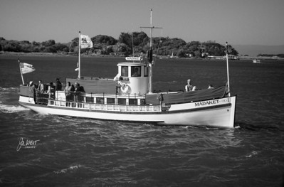 Humbolt Bay tour boat