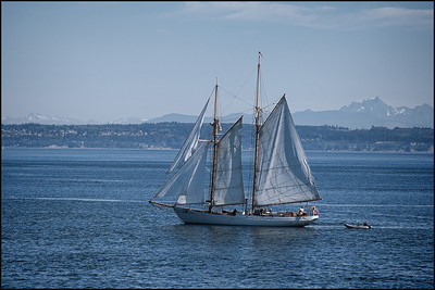 Puget Sound, Wa.  Nothing but blue.....