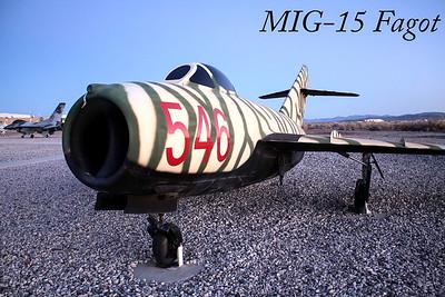 MIG-15, Fagot