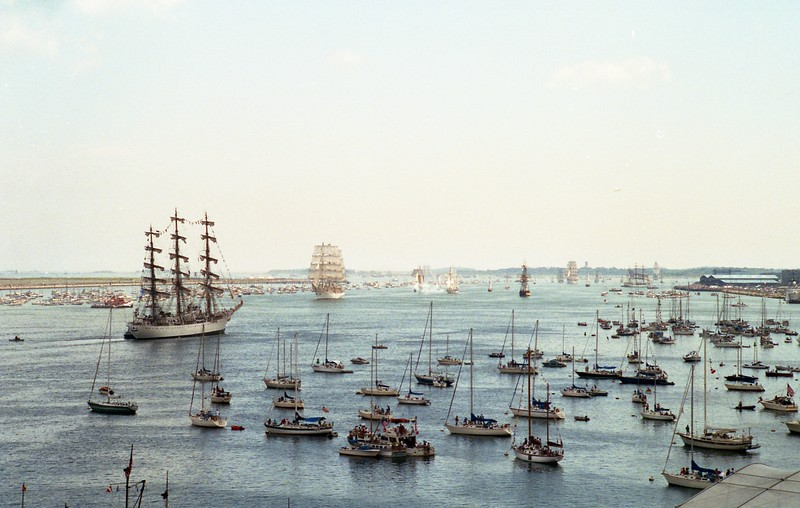 Tall Ships, Boston 1992 © Alan Mela
