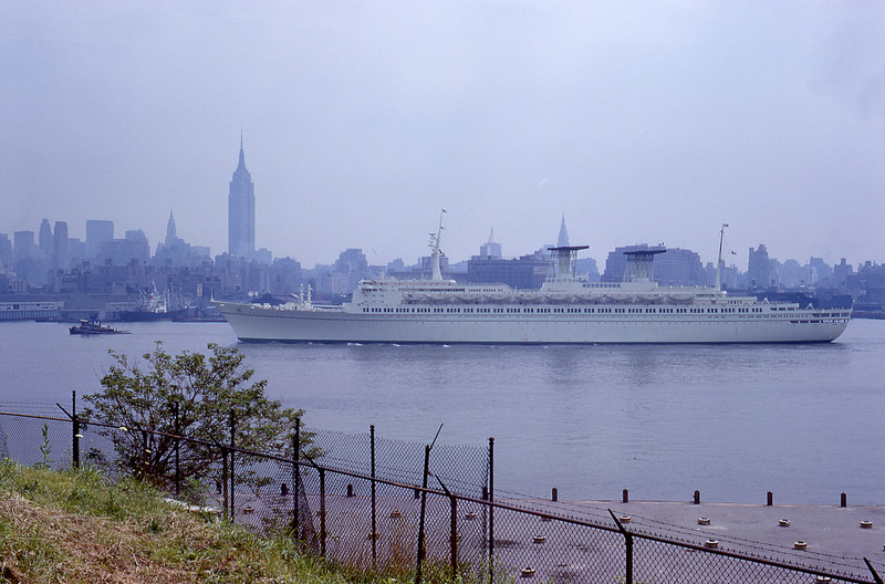 SS Michelangelo, 1962-1975, 904',  damaged in hurricane 4/11/66  © Alan Mela