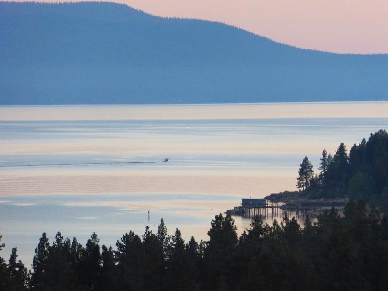 Tahoe Sunrise (ok, behind me)