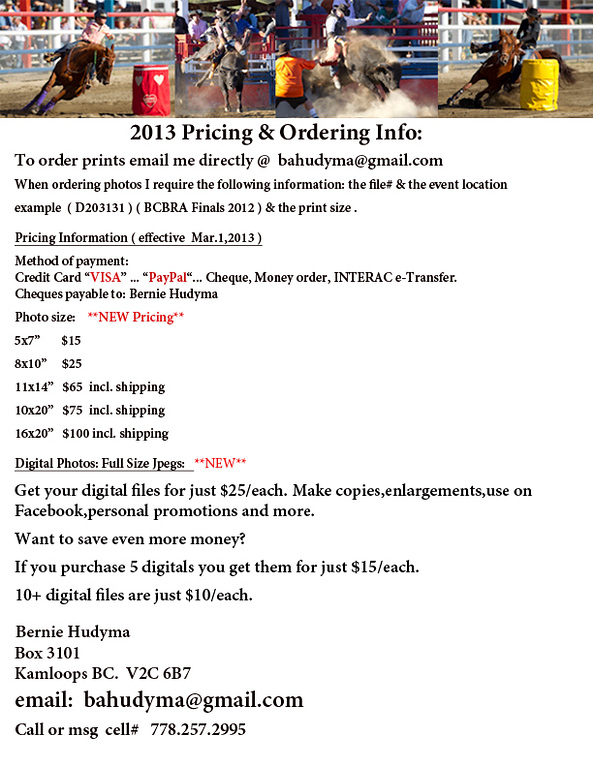 Price List Mar1 2013