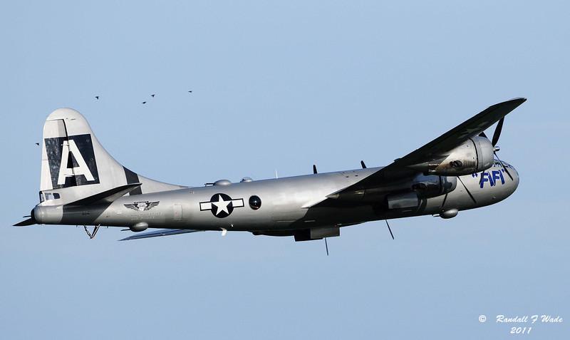 B-29 with Escort