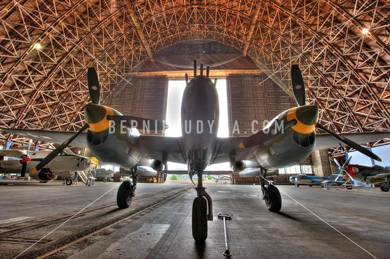 P-38 Lighting_ Tillamook Air Museum<br /> A093013
