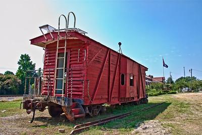 Vivian Railroad Station Louisiana