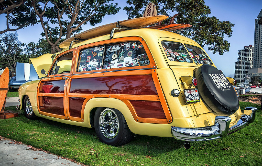 Woodie Beach Cruiser