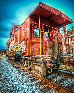 Graffiti Caboose