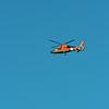 USCG Helicopter over Jekyll Island 07-19-19