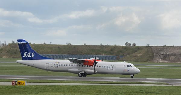 Scandinavian Airlines System Embraer ATR72-600 OY-JZB  in Kopenhagen/DK.