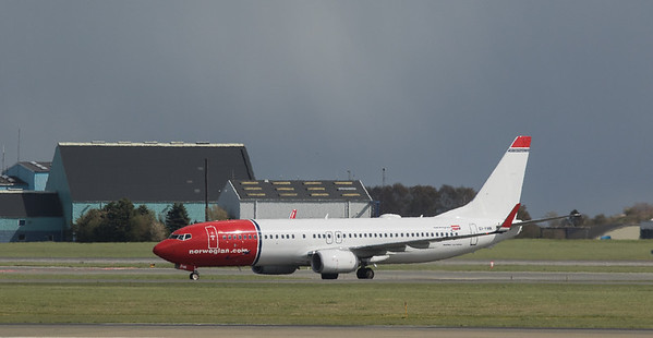 Norwegian Boeing 737 EI-FHK in Kopenhagen/DK.