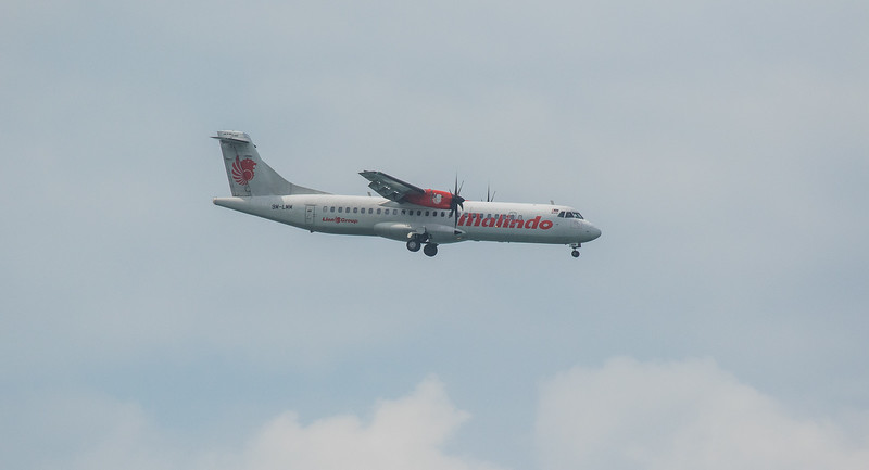 Malindo Air ATR72-600 9M-LMM as OD1410 approaching Langkawi LGK WMKL.