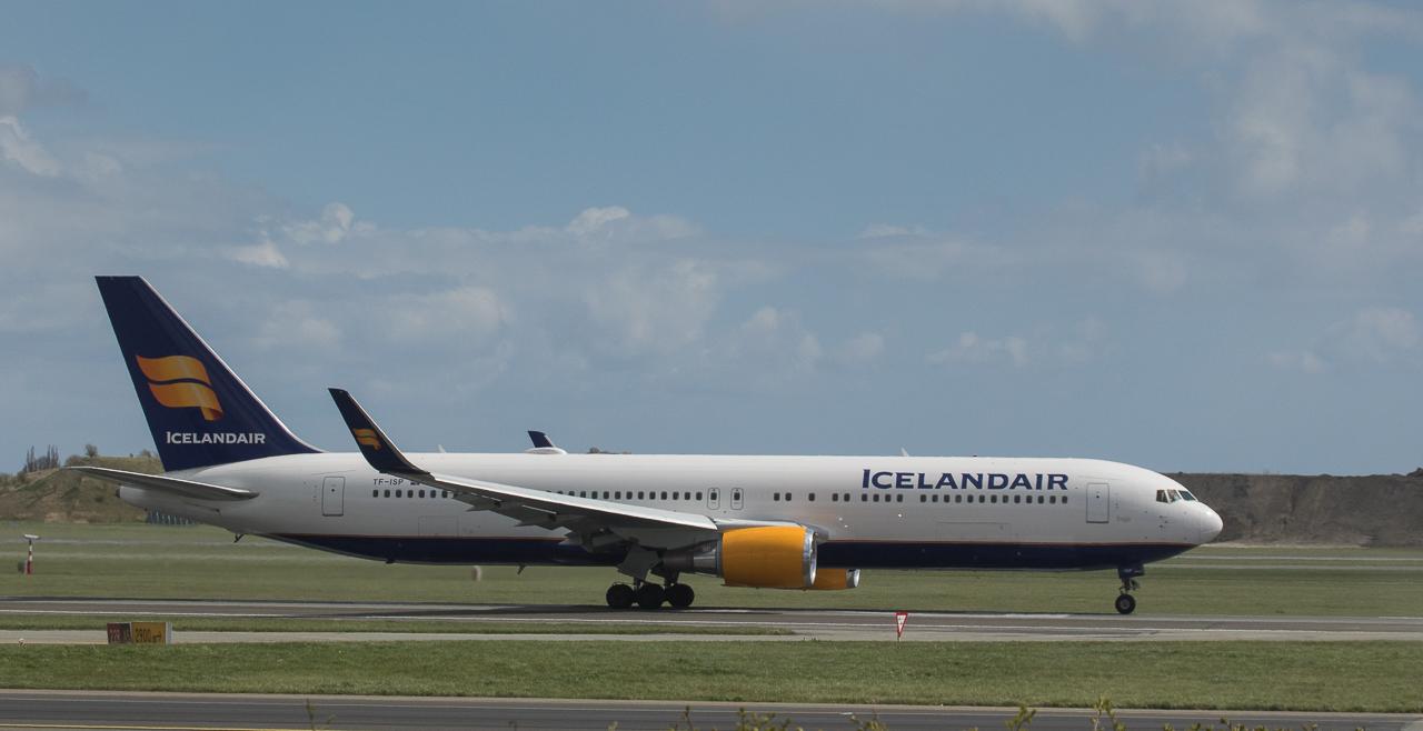 Iceland Air Boeing 767-319ER TF-ISP at Kopenhagen/DK.
