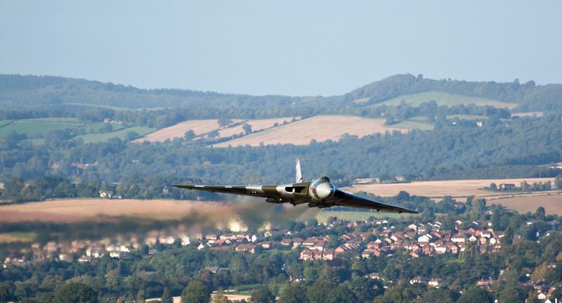 Vulcan over Bishopswood