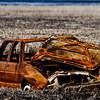 Car parts dumped into Cook Inlet, Alaska.