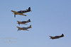 "Hawker Sea Fury FB.11 ""Argonaut""<br /> Yakovlev Yak-3 ""SteadFast""<br /> P-51D Mustang ""Merlins Magic""<br /> P-40 Kittihawk"