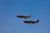 "Top: P-51D Mustang, ""Merlins Magic""<br /> Bottom: P-51D Mustang, ""Comfortably Numb"""