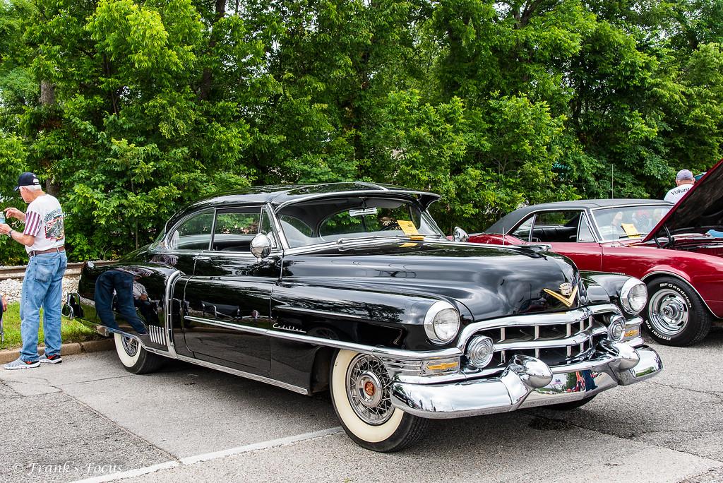 A restored 1952 Cadillac