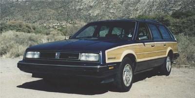 1986 Pontiac 6000 LE Station Wagon (1986-1988)