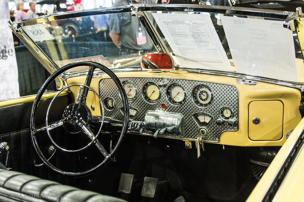 1937 Cord Model 812 Phaeton Roadster