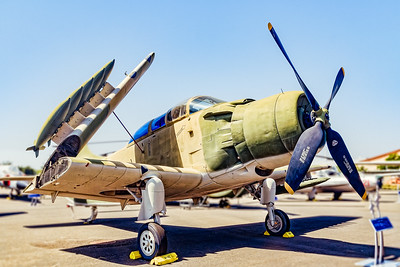 (A-1E) Skyraider Aerospace Museum of California