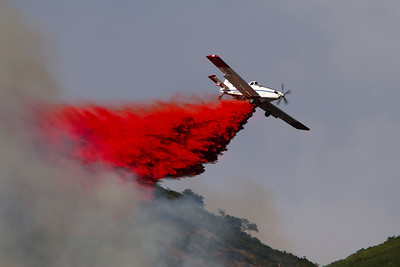 Red Butte Fire; Single Engine Air Tankers (SEAT)